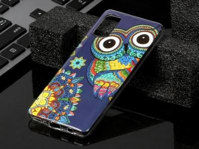 Силиконов Гръб за Samsung Galaxy A41, Бухал