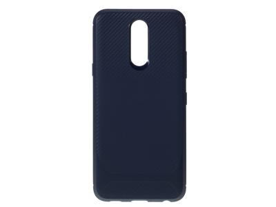 Силиконов гръб Carbon за LG K40/K12+/K12 Plus, Син