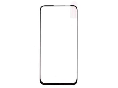 Стъклен Протектор Full Glue за Motorola Moto G8 Power, Черен