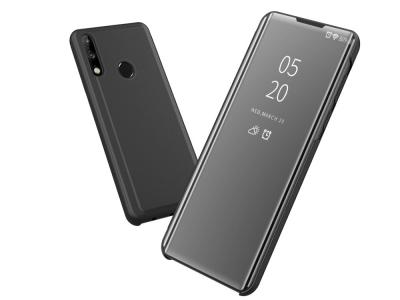 Калъф Тефтер View Window за Huawei P40 lite E / Y7p, Черен