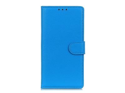 Калъф Тефтер Litchi Grain за Huawei Y5p/Honor 9S, Син