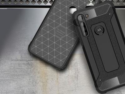 Удароустойчив гръб Armor за Motorola Moto G8 Power , Черен