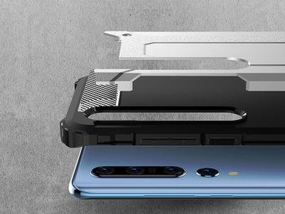 Удароустойчив гръб Armor за Xiaomi Mi 10 / Mi 10 Pro, Сребрист