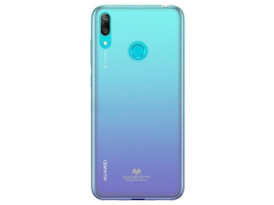 Силиконов гръб Jelly Mercury за Huawei Y6 2019, Прозрачен