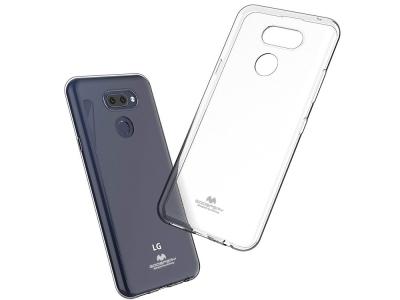 Силиконов гръб Jelly Mercury за LG K40S, Прозрачен