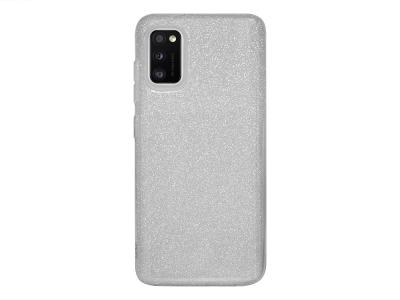 Силиконов Гръб SHINING за Samsung Galaxy A41, Сребрист