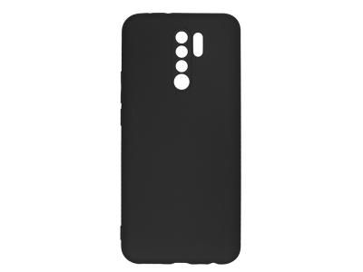 Силиконов гръб Level за Xiaomi Redmi 9, Черен