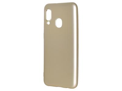 Силиконов Гръб Level за Samsung Galaxy A20e, Златист