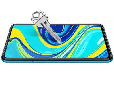Стъклен Протектор 5D Full Glue за Xiaomi Redmi Note 9, Черен