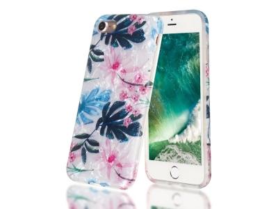 Силиконов Гръб за iPhone 7 /8 / SE 2020, Цветни листа