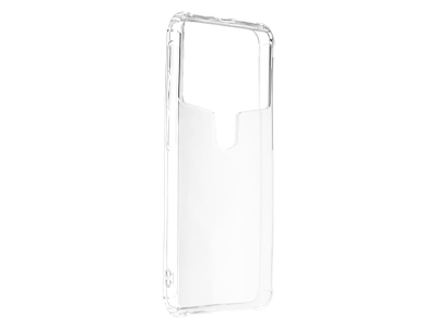 Универсален силиконов гръб за телефон 5.3 - 5.6 inch, Прозрачен