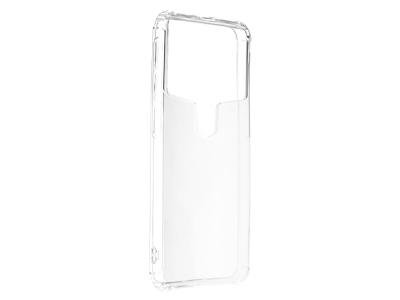 Универсален силиконов гръб за телефон 5.9 - 6.3 inch, Прозрачен