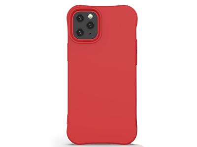 Силиконов гръб Matte за iPhone 12 Mini, Червен