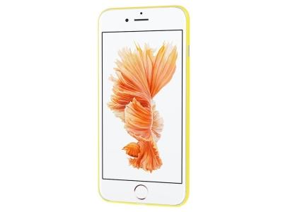 Пластмасов гръб Matte за iPhone 8 Plus / 7 Plus, Жълт