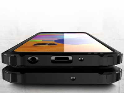 Удароустойчив гръб Armor за Samsung Galaxy A31, Син