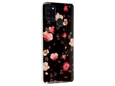 Силиконов Гръб за Samsung Galaxy A21s,Цветя