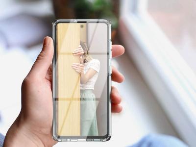 360 градуса силиконов калъф за Samsung Galaxy A51, Прозрачен