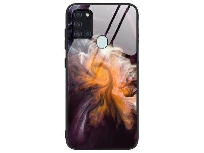 Стъклен гръб Glass за Samsung Galaxy A21s, Космос
