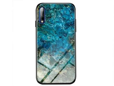Стъклен гръб Glass за Honor 9X, Смарагд