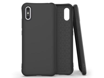 Силиконов Гръб Matte за Xiaomi Redmi 9A, Черен