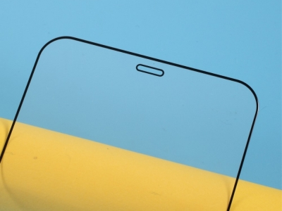 Стъклен Протектор 5D Full Glue за iPhone 12 Mini, Черен