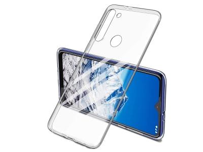Силиконов гръб за Motorola G8 Power Lite, Прозрачен