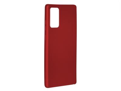 Силиконов Гръб Level за Samsung Galaxy Note 20, Червен