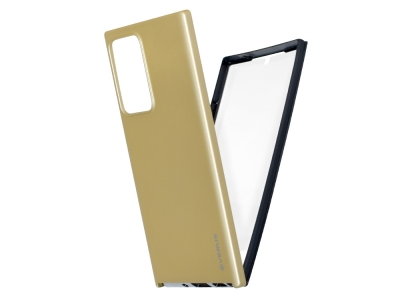 360 Градуса Калъф за Samsung Galaxy Note 20 Ultra, Златист