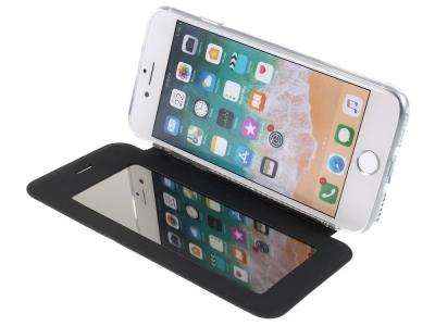 Калъф Тефтер с Огледало за  iPhone 8/7/SE 2 (2020), Черен