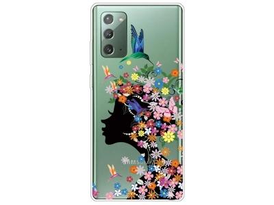 Силиконов калъф за Samsung Galaxy Note 20/Note 20 5G, Цветя