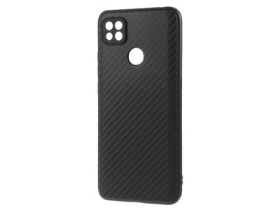 Силиконов Калъф Carbon за Xiaomi Redmi 9C, Черен