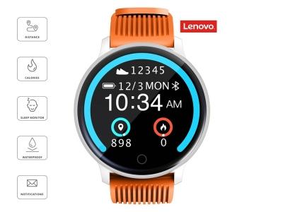 Смарт Часовник Lenovo BLAZE HW10H, Оранжев