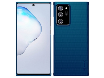 Оригинален Калъф Nillkin Super Frosted за Samsung Galaxy Note 20 Ultra, Син