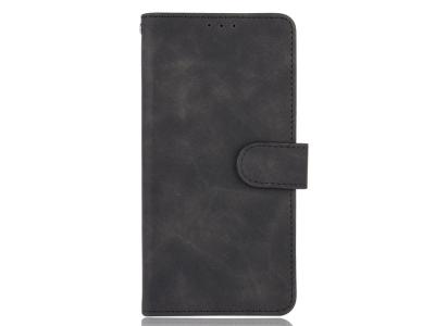 Калъф Тефтер Skin-touch за Motorola Moto G9 Play/G9 (India), Черен