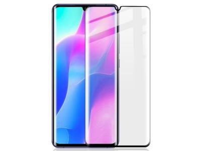Стъклен протектор 5D Full Glue за Xiaomi Mi Note10 lite, Черен