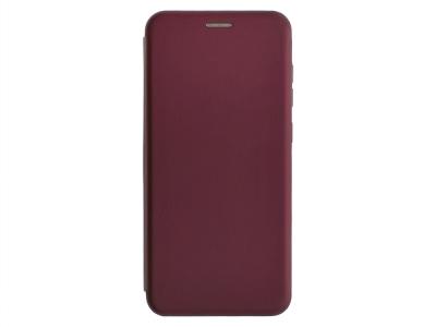 Калъф Тефтер ELEGANCE за Samsung Galaxy A71, Бургундски цвят