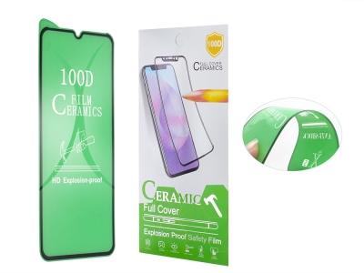 Стъклен Протектор Full Glue Hard Ceramic за iPhone 12 Pro Max, Черен