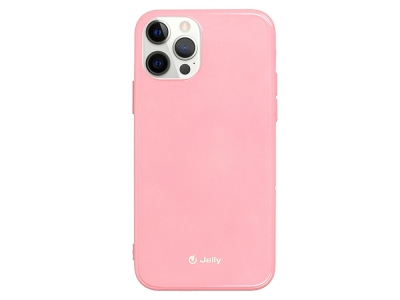 Силиконов Гръб Jelly Case за iPhone 12 Pro Max, Светло розов