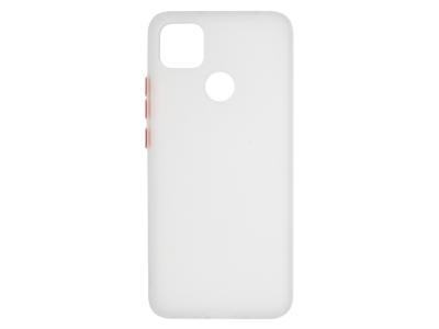 Удароустойчив Гръб Bumper за Xiaomi Redmi 9C, Бял