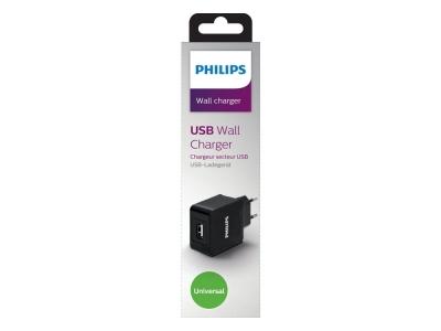 Зарядно 220v Philips DLP2309 1xUSB 2.1A