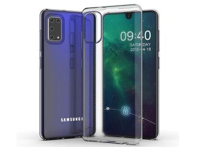 Силиконов калъф Ultra Slim за Samsung Galaxy A41, Прозрачен