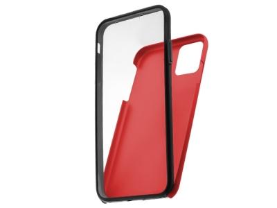 360 Градуса Калъф за iPhone 12 Pro Max, Червен