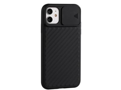 Силиконов калъф Shield за iPhone 12 Pro Max 6.7 inch, Черен