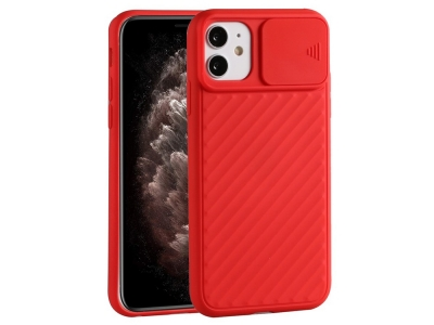 Силиконов калъф Shield за iPhone 12 Pro Max 6.7 inch, Червен