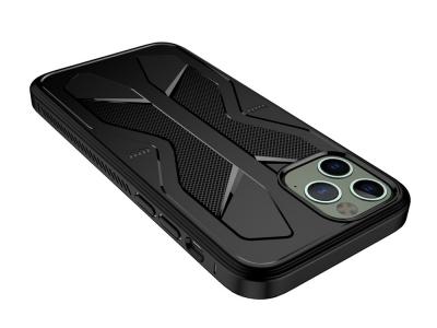 Силиконов калъф Butterfly за iPhone 12 Pro Max 6.7 inch, Черен