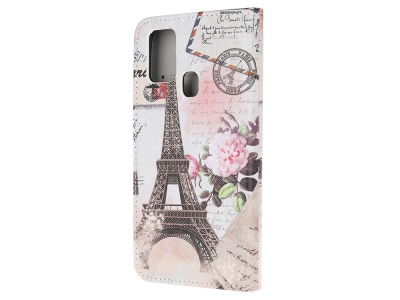 Калъф Тефтер за Samsung Galaxy A21s, Айфеловата кула