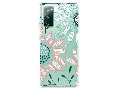 Силиконов калъф за Samsung Galaxy S20 FE / S20 Fan Edition, Цветя