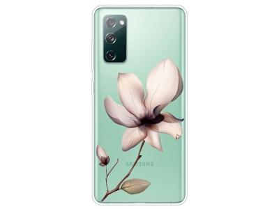 Силиконов калъф за Samsung Galaxy S20 FE / S20 Fan Edition, Цвете