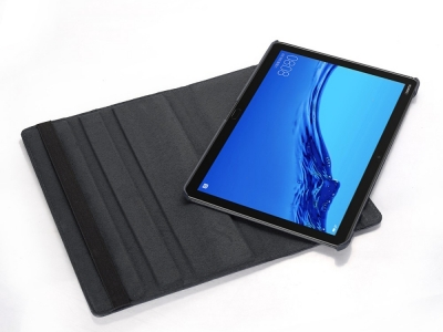 Калъф Тефтер за Huawei MediaPad M5 lite 10/C5 10, Черен