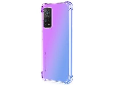 Силиконов Гръб Anti-Drop за Xiaomi Mi 10T 5G/Mi 10T Pro 5G, Лилав/ Син